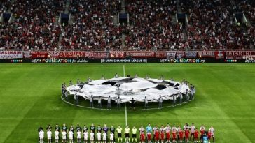 To πρόγραμμα του Ολυμπιακού στυ Champions League 2019-2020