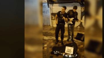 viral video αστυνομικος μοναστηρακι